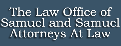 Law Office of Samuel and Samuel Logo